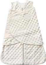 HALO Sleepsack Swaddle, Velboa Plush Dots Color: Cream