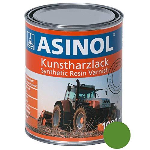 ASINOL DEUTZ GRÜN HELL AB 1974 1000 ml Kunstharzlack Farbe Lack 1l Liter Dose