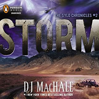 Storm audiobook cover art