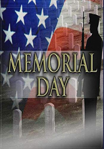ALAZA Garden Flag Yard Decoration, Thank You American Military Soldiers Patriotic Memorial Day Classic Home Decor Double-Sided Printing, 12' x 18'