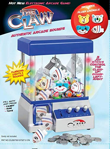 Claw Machine - Arcade Mini Toy Grabber Machine for Kids - Candy...