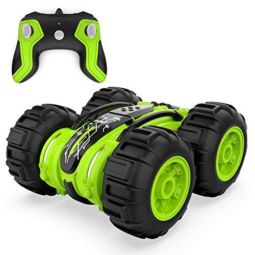 ANTAPRCIS 2 en 1 RC Coche Teledirigido, 4WD Control Remoto Coche Juguete para 6-12 años de Edad niños cumpleaños