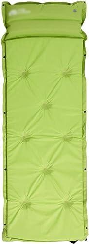 Coussin gonflable 6cm épaisse Prougeection Auto-gonflante Camping Extérieur Simple   Double Tente De Tapis De Couchage épaississement étanche à L'humidité Avec Oreiller Gonflable En Trois Dimensions