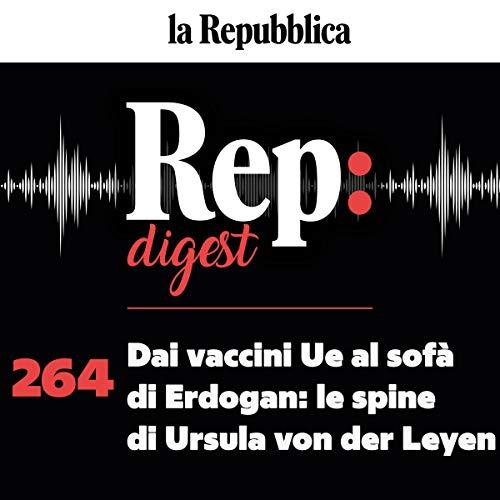 Dai vaccini Ue al sofà di Erdogan - le spine di Ursula von der Leyen cover art