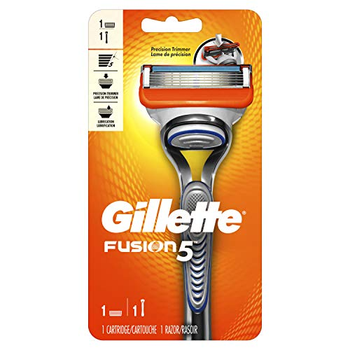 Gillette Fusion5 Men's Razor Handle + 1 Blade Refill
