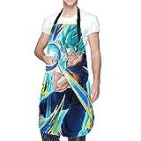 Grembiule da Cucina Dragonball Super Vegito con Tasca per Uomo Donna