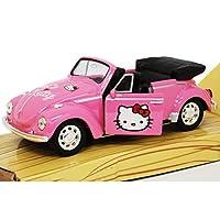 Hello Kitty Classic Car DIE CAST OffciallyフォルクスワーゲンConvitableカーによってライセンス