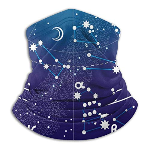 Calentador de Cuello The Map Calentador de Cuello Pasamontaas a Prueba de Viento Capucha de Lana Sombreros de Invierno UV Gratis