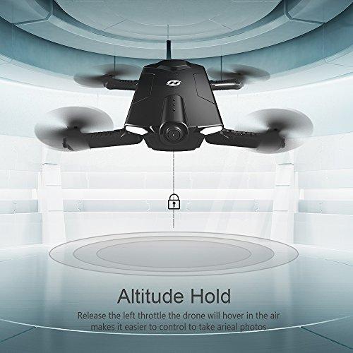 Drone pliable Holy Stone HS160 avec Caméra HD 720P WiFi FPV Vidéo en Temps réel - 5