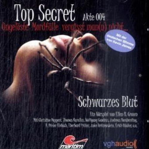 Schwarzes Blut (Top Secret Akte 004) Titelbild