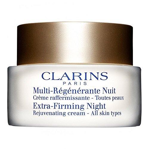 Clarins Extra straffende Nacht Verjüngernd creme - Alle Hauttypen, 50ml Ein wohliges Creme / hinterlässt haut ruhte auf der suche und strahler