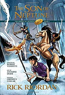 The Heroes of Olympus, Book Two The Son of Neptune: The Graphic Novel (The Heroes of Olympus, Book Two)
