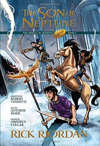 The Heroes of Olympus, Book Two The Son of Neptune: The Graphic Novel (The Heroes of Olympus, Book Two) (The Heroes of Olympus, 2)
