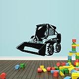 STICKERSFORLIFE Wall Decal Vinyl Sticker Decals Tractor Loader Bulldozer Kids (Z1983)