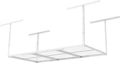 "FLEXIMOUNTS 3×6 Overhead Garage Storage Adjustable Ceiling Storage Rack 72"".."
