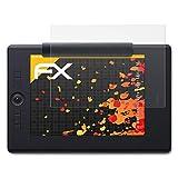 atFoliX Película Protectora Compatible con Wacom Intuos Pro Paper Edition M Lámina Protectora de Pantalla, antirreflejos y amortiguadores FX Protector Película (2X)