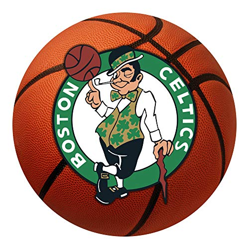 FANMATS 10220 NBA Boston Celtics Nylon Face Basketball Rug 26' diameter