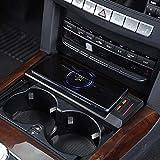 Cargador QI inalámbrico rápido de 15 W, cargador de teléfono, accesorios de caja de carga para Mercedes Benz W212 E Class 2012 2013 2014 2015