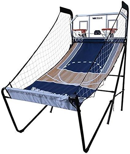 Wild Sports    2 hnelle, 2 ayer Arcade Basketball Spiel System, blau, 47 S