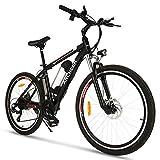 ANCHEER Elektrofahrrad Ebike Mountainbike, 26'/27.5' Elektrisches Fahrrad mit 36V 8Ah/10Ah/12Ah...