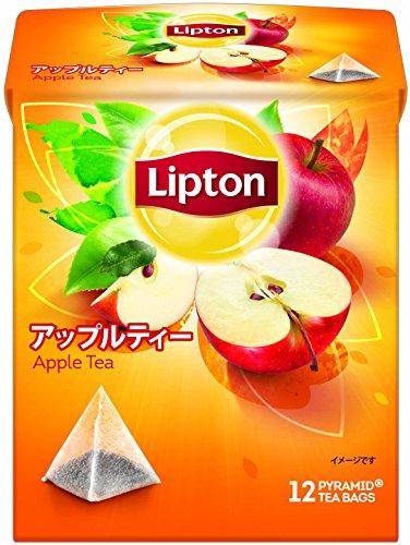 リプトン アップルティー ティーバッグ 12袋×6箱