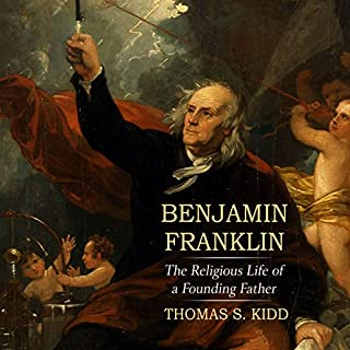 Benjamin Franklin audiobook cover art