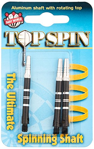 Dart World Top Spin Shaft, Black, Medium