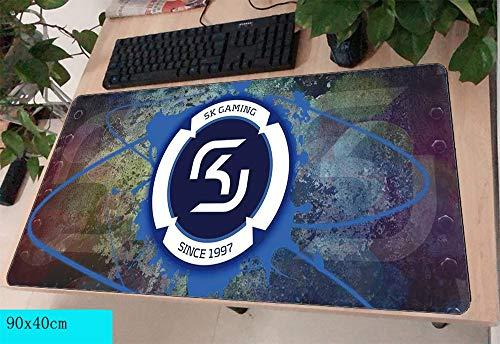 jasonding Alfombrilla De Ratón SK Gaming Pad Mouse Computador Gamer Mouse Pad 900X400 Padmouse Gran Mousepad Ergonómico Gadget Escritorio De Oficina Esteras