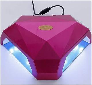 Secadores de uñas Lámpara de Clavo, secador Ultravioleta del Clavo de 60W LED con la Pantalla LED para los polacos a Base de Gel