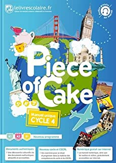 Anglais Cycle 4 Piece of Cake