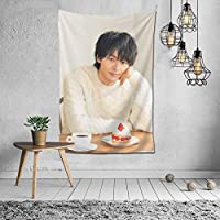 中村 倫也 壁掛け タペストリー インテリア 壁飾り ポスター テーブルクロス 152x102cm 60x40in