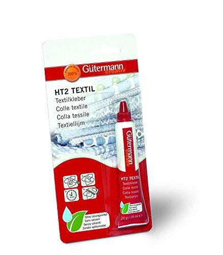 Gütermann HT2 Textilkleber 20 g / Wasch- und reinigungsbeständig - lose