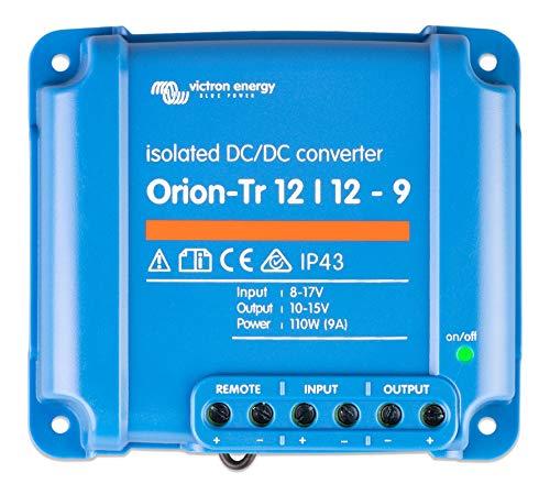 Victron Energy ORI121210110R Orion-TR 12/12-9A Isolated DC Convertidor, De 12 a 12 V-9A (110W)