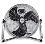 AVANT Ventilador de Suelo Ventilador con Rejilla de Aire Regulable | Ventilador silencioso 2 Velocidades | Tamaños 50cm | Potencia 140W.