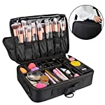Beauty Shopping Relavel Travel Makeup Train Case Makeup Cosmetic Case Organizer