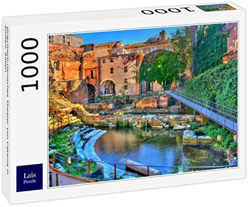 Lais Puzzle Teatro Greco-Romano di Catania, Sicilia, Italia 1000 Pezzi