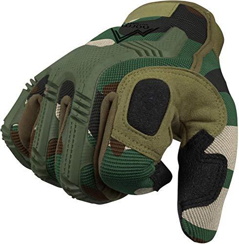 Vollfinger Allround Einsatzhandschuhe für Sport und Outdoorbereich Farbe Woodland Größe XL