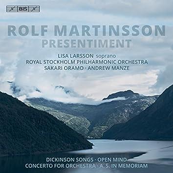 Martinsson: Presentiment