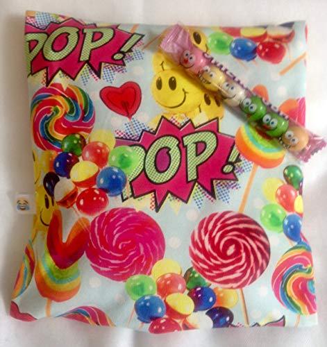 Schmusekissen Sweet mit Bio-Hirseschalen Füllung,Spielzeug,Kindergeburtstag, Schulbeginn,Schulanfang, Kinder, Trostgeschenk,Baby, Handmade Germany, Geschenk Geburt,