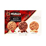 Walkers Shortbread Assorted Scottish Cookies, 8.8 Ounce Box (Pack of 3)