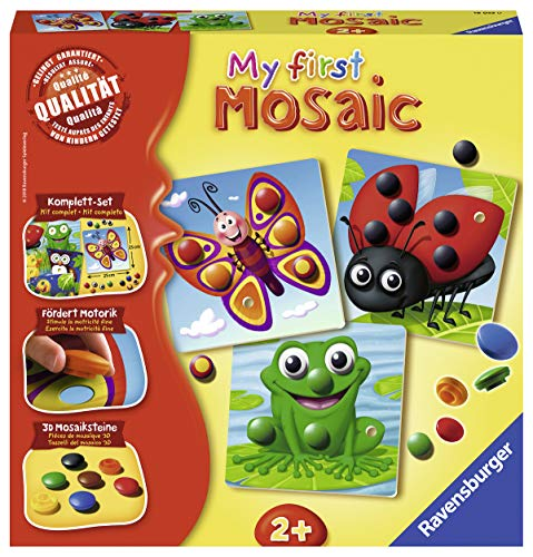 Ravensburger 18053 My First Mosaic: Cute Animals