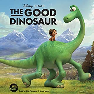 The Good Dinosaur audiobook cover art
