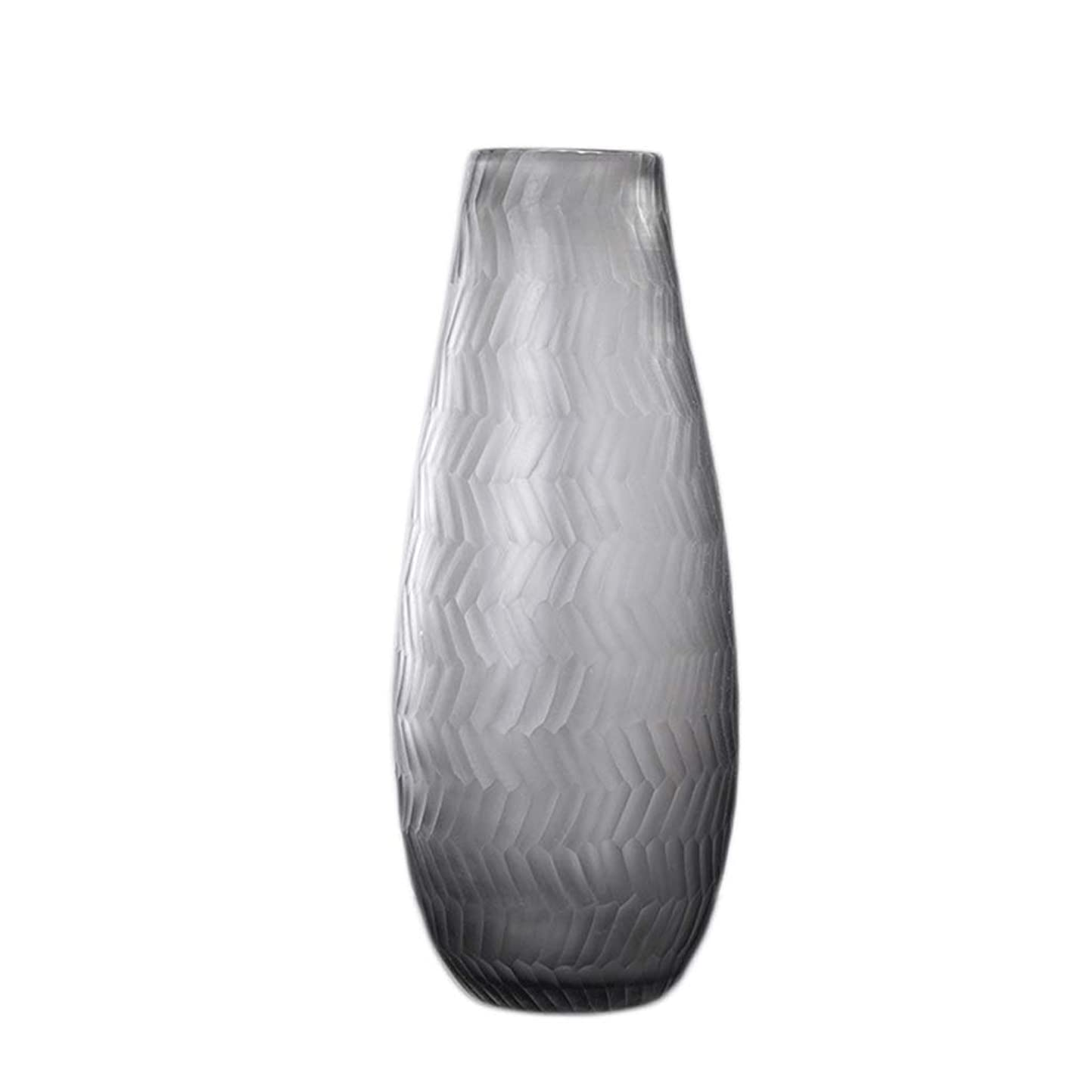 内なるトンバットTXC- 透明ガラス花瓶フラワーアレンジメント水花家の装飾リビングルームの装飾 デコレーション (Color : C)