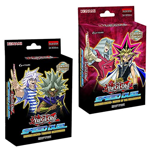 Yu-Gi-Oh KONMMTN Speed Duel-Match of The Millennium & Twisted Nightmare...
