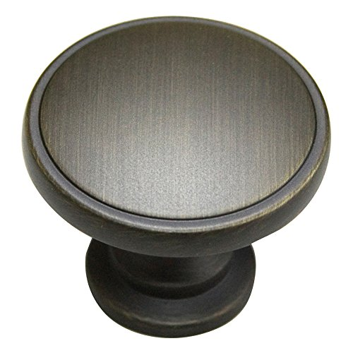 Style Selections Oil-Rubbed Bronze Round Cabinet Knob