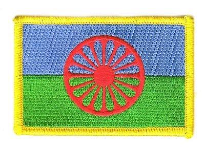 Flaggen Aufnäher Patch Sinti und Roma Fahne Flagge