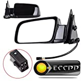 ECCPP Driver and Passenger Power Side View Mirrors Replacement Replacement fit for Chevy GMC Pickup Truck SUV 15764757 15764758