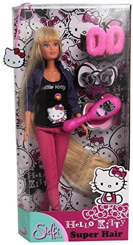 Simba - 105730839 - Poupée - Steffi Love Cheveux longs - Hello Kitty - 29 cm
