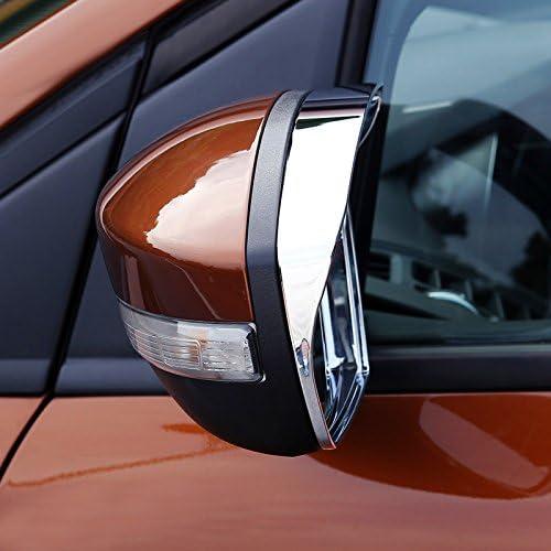 Für Kuga 2013 2018 Chrom Außenspiegel Seitenspiegel Stylingleisten 2 Stück Abs Kunststoff Auto