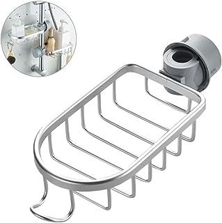 Robinet de cuisine éponge support en acier inoxydable évier de cuisine Caddy panier organisateur salle de bain douche robi...